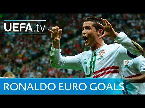 Cristiano Ronaldo: Watch all of his EURO goals!