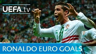 Cristiano Ronaldo: Watch all of his EURO goals!