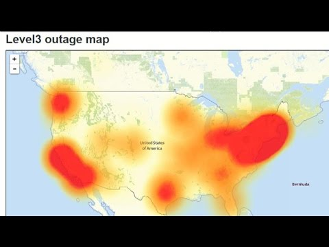 Major sites disrupted by cyberattack