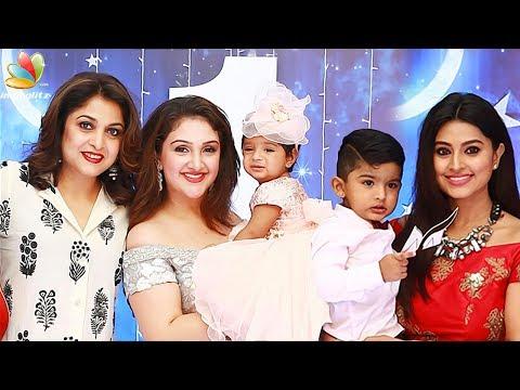 Sridevi's daughter's 1st Birthday Celebrations with Aishwarya Rajinikanth, Sneha | Family Event