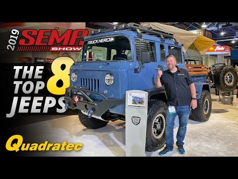 Uncle John - For the LOVE of JEEPS!  SEMA Showing some Jeep Love!  That Ain't NO BULL!