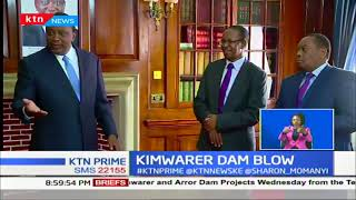 President Uhuru cancels the sh22b Kimwarer dam project