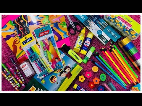 MY SCHOOL SUPPLIES & STATIONERY HAUL | BACK TO SCHOOL 2019 | Lavanya Lifestyle