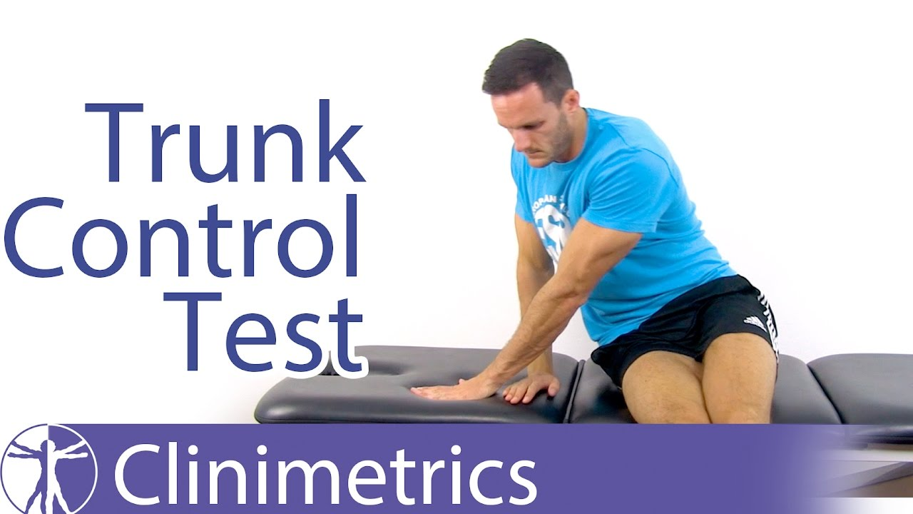 The Trunk Control Test (TCT) | Stroke Motor Impairment Evaluation