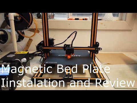 Magnetic Bed Plate Installation and Review