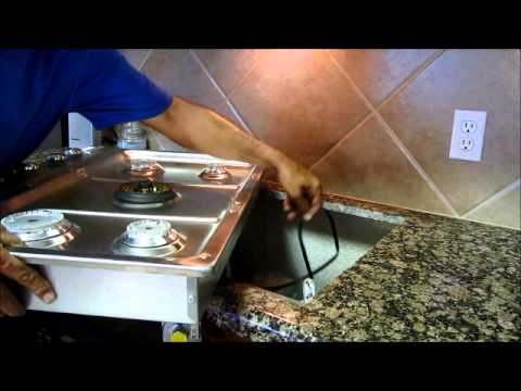 Diy How To Replace A Gas Cooktop You