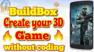 BuildBox | Create Your 3D Game | Without Coding 🔥🔥🔥