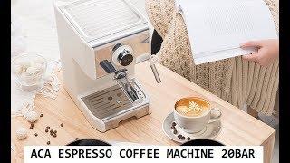 Máy pha cà phê espresso ACA - ACA coffee espresso maker 20BAR