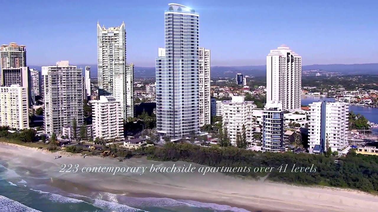 Rhapsody Surfers North Apartments, Gold Coast QLD - YouTube