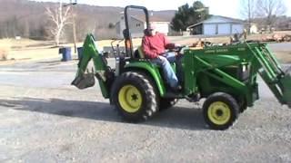 2003 John Deere 4310 Compact Tractor Loader Backhoe 4x4 For Sale