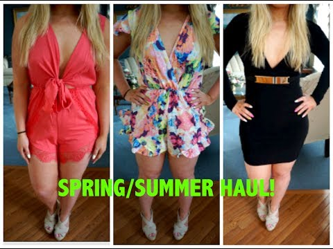 Affordable Spring / Summer Fashion Haul with Try-Ons!