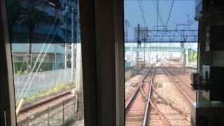 【竹ノ塚】08系前面展望【高架前】