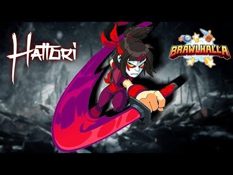 LETS PLAY HATTORI! • Hattori Showcase • Brawlhalla 1v1 Diamond Gameplay