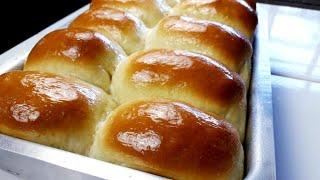 Pão Caseiro Que Não Precisa Sovar a Massa