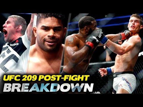 BREAKDOWN: UFC 209 Post-Fight (w/ Sean Sheehan)