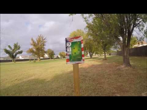 Disk golf course Dyess AFB