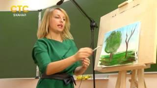 Урок живописи в университете 3-го возраста