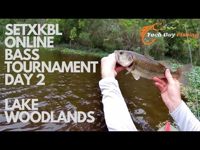 SETXKBL Online Bass Tournament Day 2 | Lake Woodlands