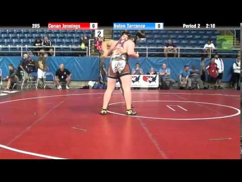 285 Conan Jennings vs. Nolan Terrance