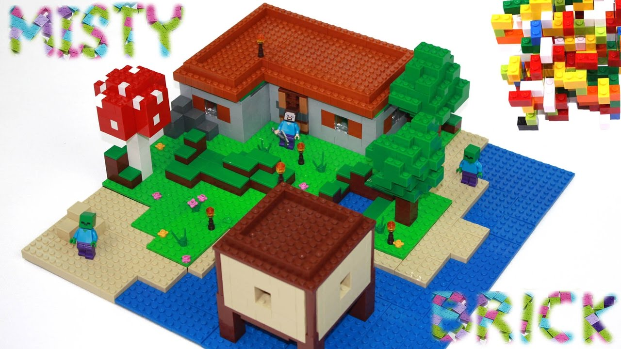 Minecraft Lego Steve U0026 39 S House 2  By Misty Brick