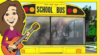 El autobГєs escolar  CanciГіn para niГ±os  Patty Shukla en espaГ±ol