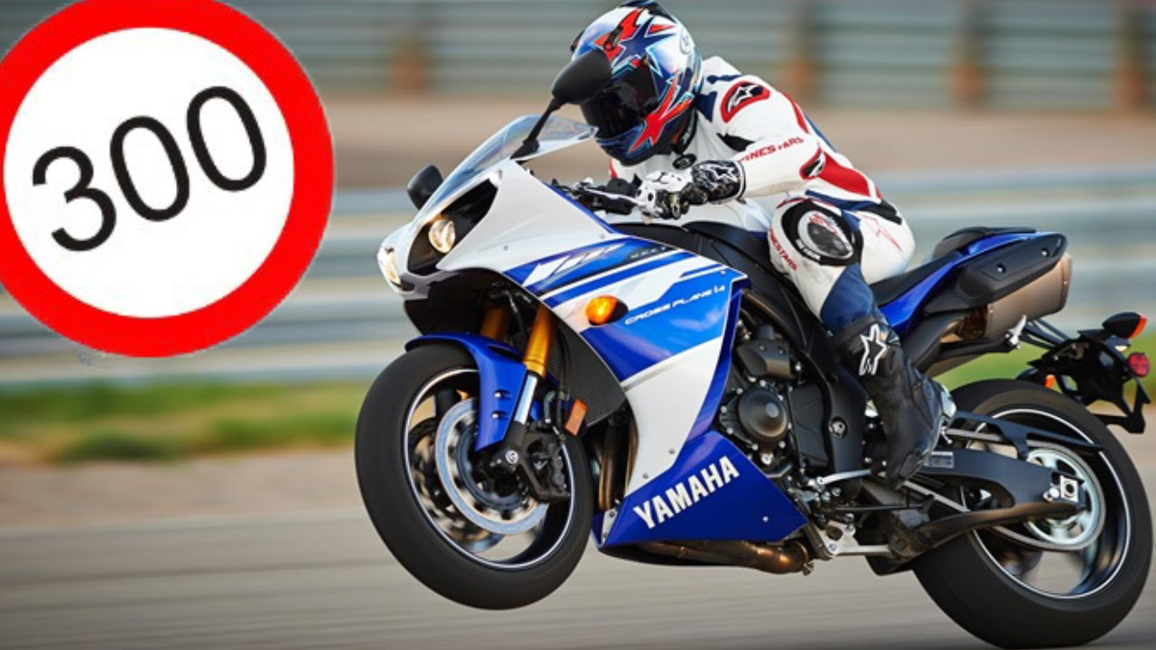 Yamaha yzf r1 2013 top speed 300km h youtube for Yamaha r1 top speed