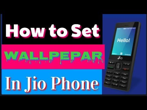 How To Set Wallpaper In Jio Feature Phone Hindi Me Youtube