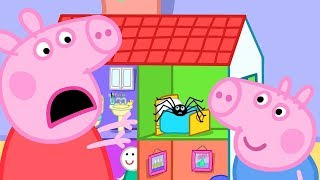 Peppa Pig English Episodes | Playing Pretend Bicycle Race Peppa Pig Official