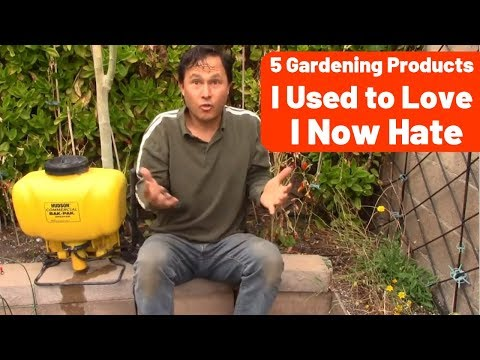 5 Gardening Products I Used to Love I Now Hate Including Hudson Sprayer + More