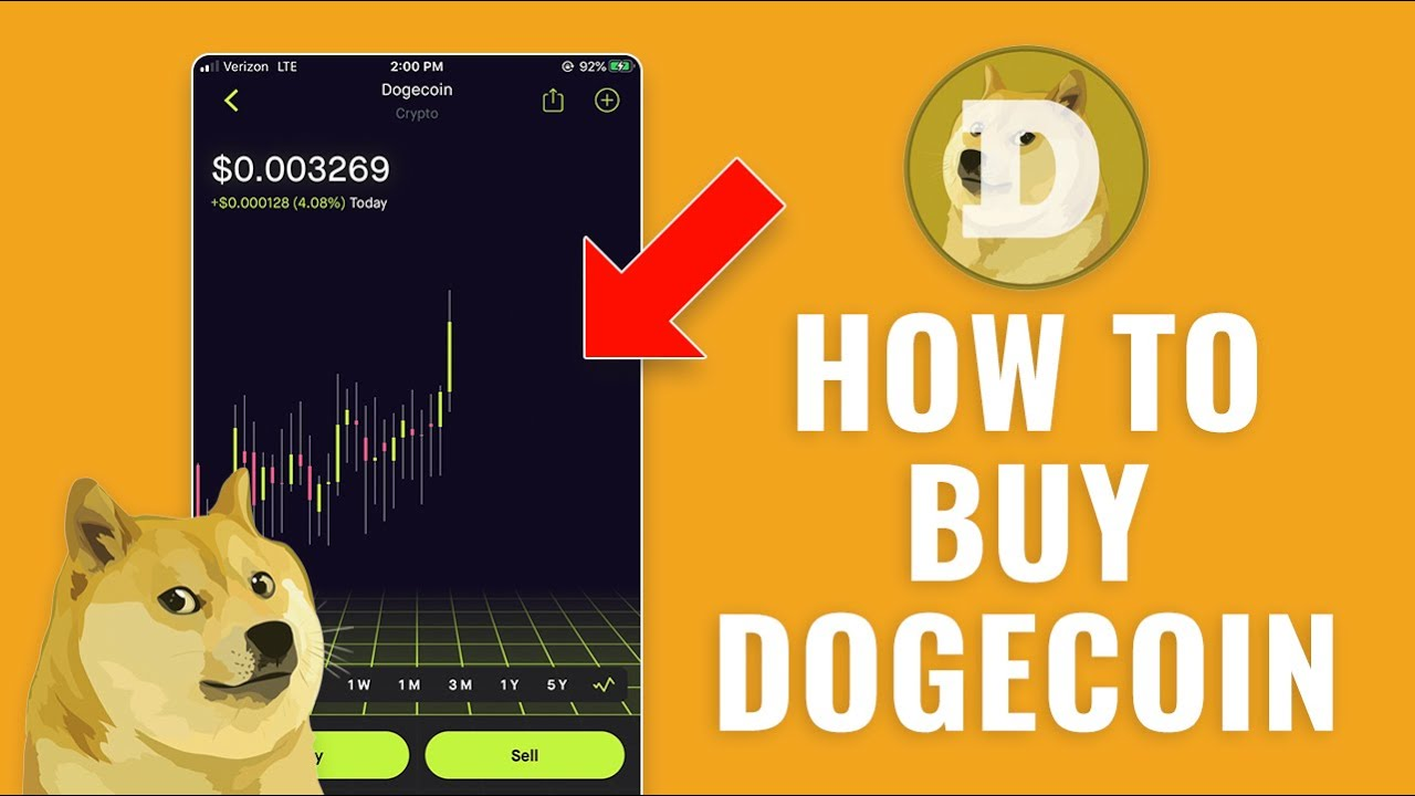 buy dogecoin