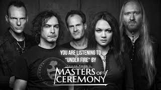 "Sascha Paeth's Masters Of Ceremony – ""Under Fire"" – Official Audio"