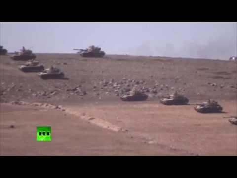 Teargas, tanks & tension surge: ISIS advances on Turkey-Syria border
