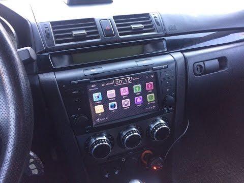 Самая дешёвая магнитола на Mazda 3 2007г.в. (2din)
