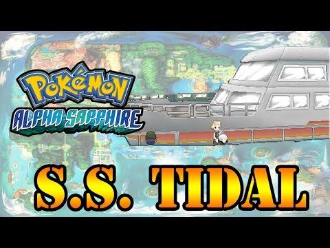 Pokémon AS/OR - Cruzeiro S.S. Tidal