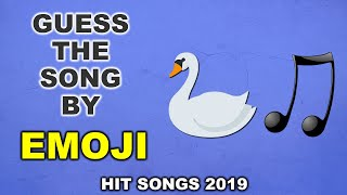 Guess The Song By Emoji Challenge - | Hit Songs From 2019 | 20 Fun Quiz Questions