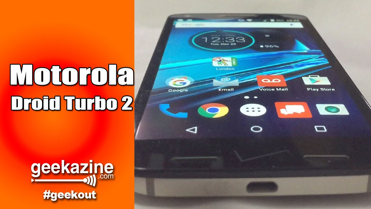 Motorola Droid Turbo 2 Video Review with Verizon International Plan