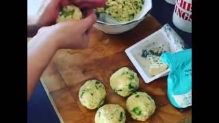 Making Three Cheese Arancini (Clip)