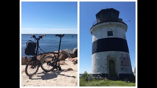 Brompton lunch ride + Visiting Djurstens lighthouse