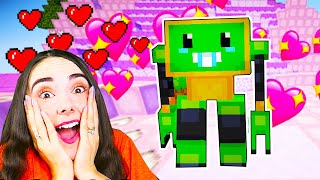 ROBOTEI In LUMEA CUTE Din MINECRAFT !!!