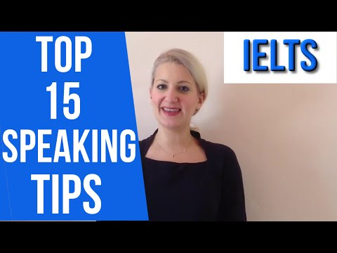 15 IELTS Speaking TIPS and a personal story!
