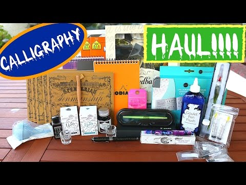 Calligraphy Haul - Calligraphy Supplies for Beginners