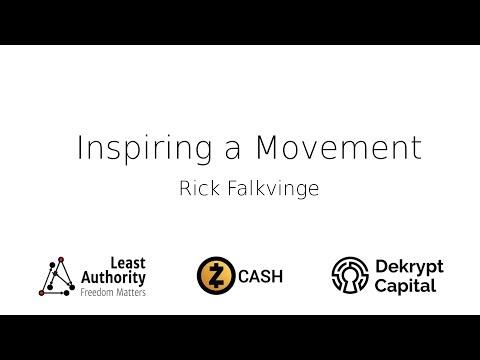 Inspiring a Movement - Rick Falkvinge - Private Internet Access