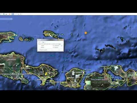20110310 Bali Earthquake 6.2