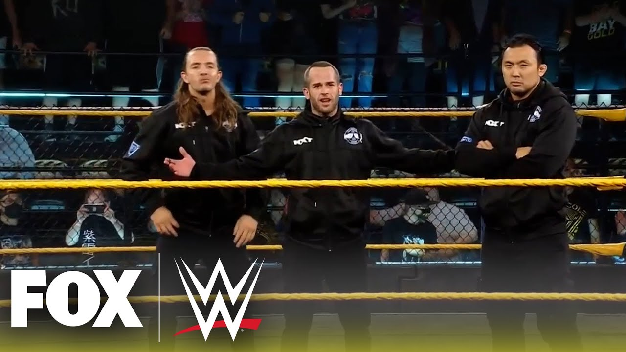Kyle O'Reilly and Kushida get violently ambushed after impromptu match   NXT   WWE ON FOX