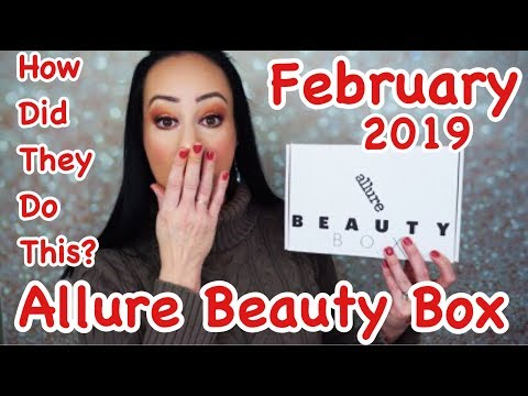 Allure Beauty Box February 2019... how do they do this?