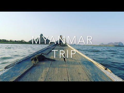 GoPro HERO 5 | KARMA Grip | MYANMAR TRIP | Travel | 2017