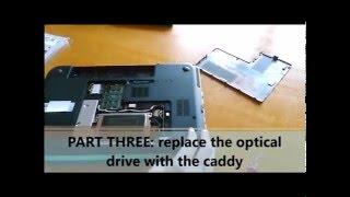 Upgrade my HP DV6 (SSD,RAM,Caddy DVD)