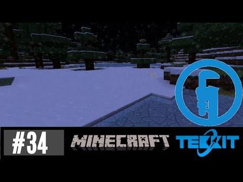 Tekkit Survival #34 So much snow!!