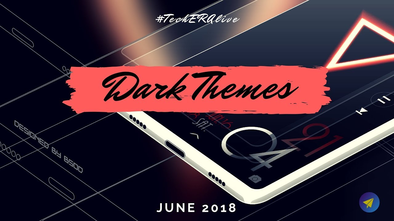 Top 3 Best Dark Themes For MIUI 9 & MIUI 10 | June 2018 | Redmi Note 5 Pro  | Redmi Note 4 | Redmi 5