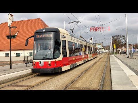 The Dresden tram 2625 / Germany, March 2017 / Part: 1
